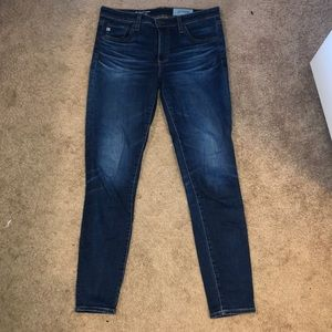 AG skinny ankle jeans